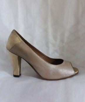 Zapato de novia sin punta
