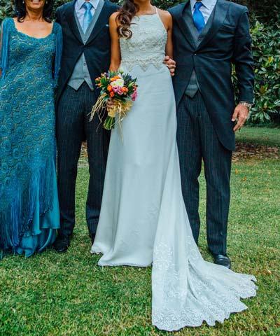 Venta de vestido de novia usado – Vestidos de noche populares foto ...