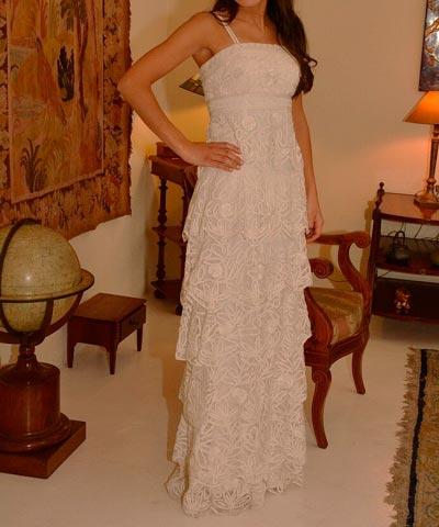 venta de vestido usado de novia importado por luz edwards