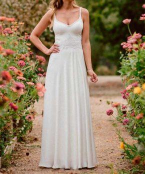 Vestido de novia usado hecho por Francisca Larrain