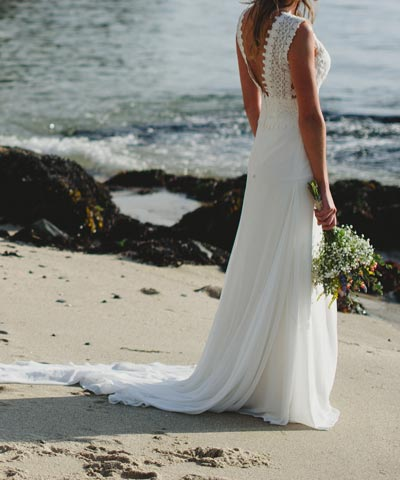 vendo vestido de novia usado marca pronovias a buen precio