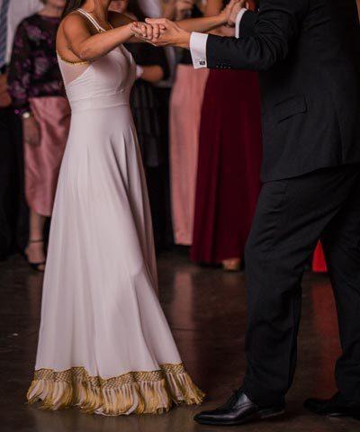 Vestido usado de novia hecho por Santa Clara Moda