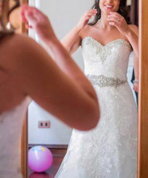 Vestido de novia usado en Chile marca Mori Lee