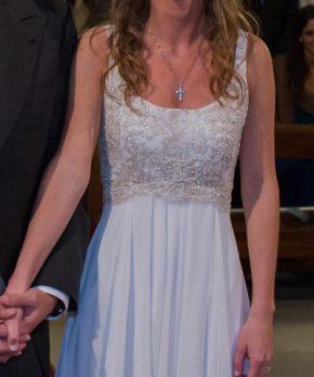 Vestido de novia usado María Subercaseaux