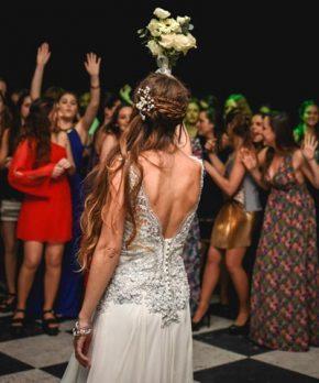 Vestido de novia usado hecho por Luz Briceño La Joya Design