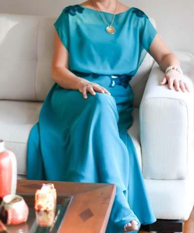 Vestido de madrina usado hecho en Trío Boutique