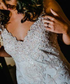 Vestido de novia usado BHLDN por Tadashi Shoji