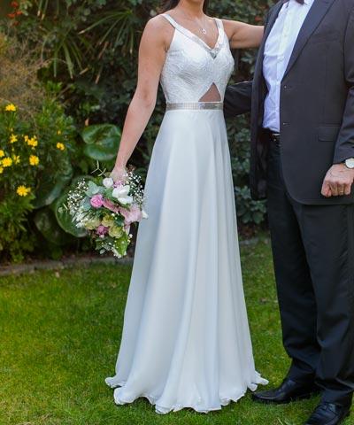 EntreVestidos.cl | En venta vestido Blanc Novias usado en matrimonio ...