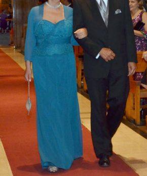 Vestido de madrina formal en venta