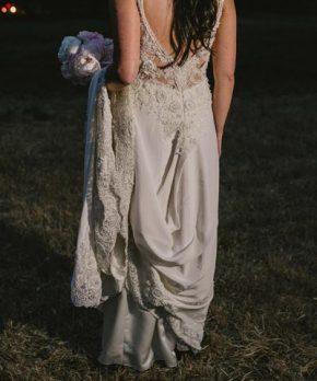 Vestido en venta María Luisa Vega novias