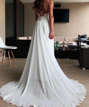 Vestido Blanca Bonita de novia a la venta de charmeuse