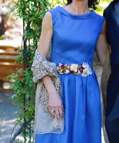 Vestido de madrina en venta de María Subercaseaux