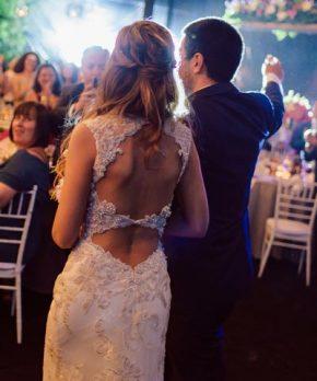 Vestido de encaje bordado de novia Maggie Sottero