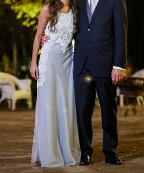 Vestido de novia hecho a la medida por AE Novias