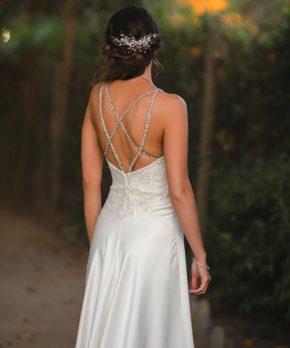 Vestido Francisca Larraín novias de piel de ángel en venta