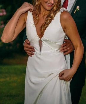 Original vestido de novia marca Maria Luisa Vega