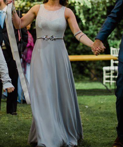 Vestido de novia en venta hecho por Javiera Jordán