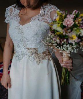 Vestido en venta de novia marca Patricio Moreno