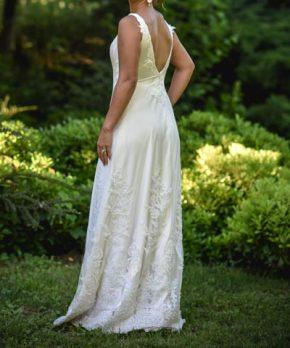 Vestido de novia de piel de ángel en venta