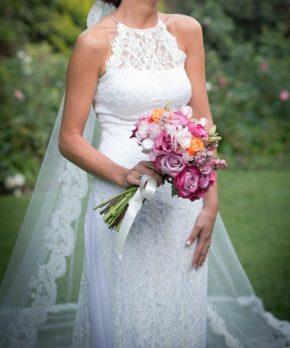 Vestido de novia boho marca BHLDN