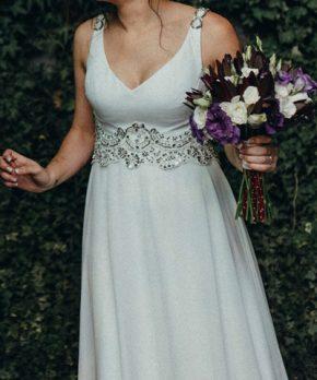 Vestido de novia en venta marca Isidora de la Lastra