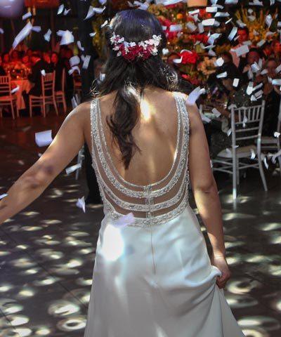 Vestido MLV de seda en venta
