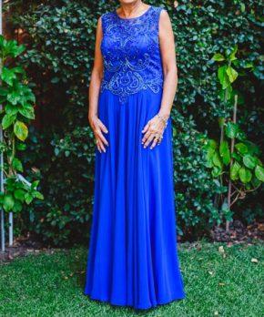 Vestido formal de madrina en venta