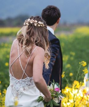 Vestido de novia Maria Luisa Vega