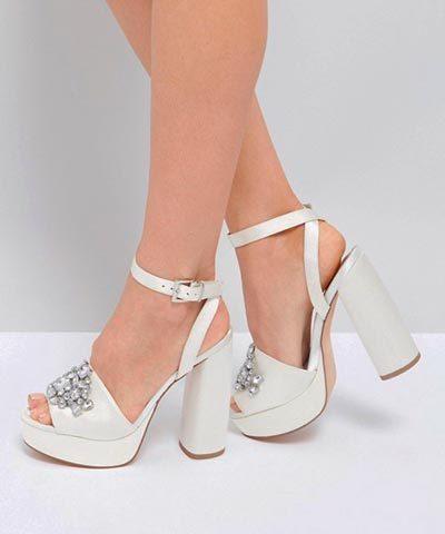 Zapatos de novia marca Asos