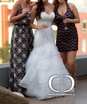 Vestido de novia corte princesa en venta