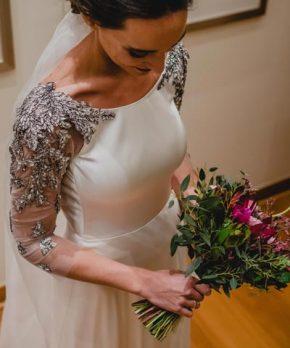 Vestido de novia de Daniela Bustamante
