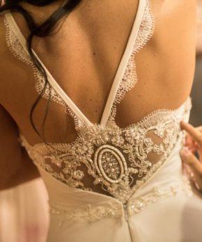 Vestido de novia de gasa Chiffón a la venta