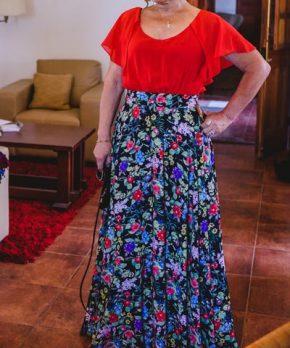 Vestido de madrina estilo español a la venta