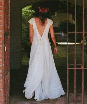 Vestido hecho por Luz Briceño a la venta