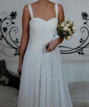 Vestido de novia hecho por María Subercaseaux