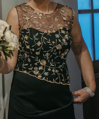 Vestido de madrina formal a la venta