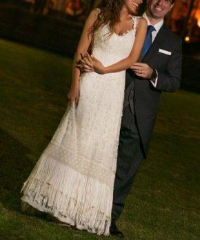 Vestido de novia hecho por Beatriz Boetsch
