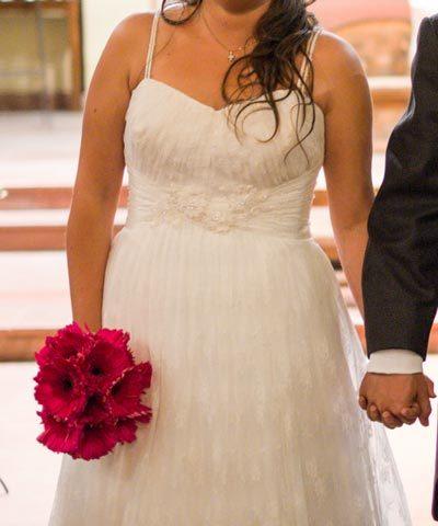 Vestido de novia usado en venta