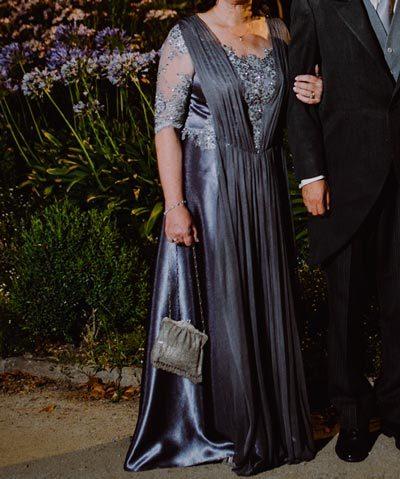 Vestido de madrina hecho por Francisca Tornero
