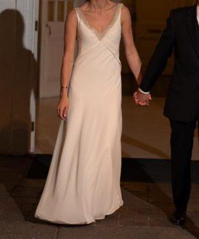 Vestido de novia hecho por Paula Pizarro