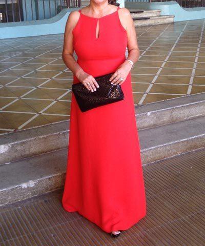 Vestido de madrina Purificación García