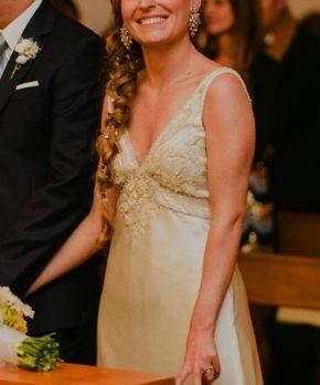Vestido de novia Andrea Echeverría en venta