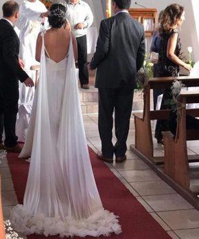 Vestido de novia en venta hecho por Sofía Larraín
