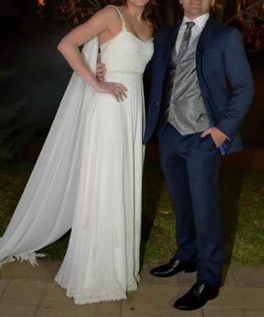 Vestido Clara Edwards de novia