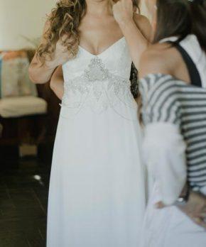 Vestido de novia Maria Ignacia Señoret