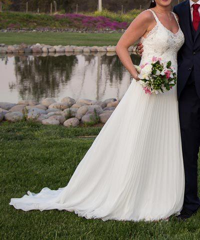 Vestido de novia Macarena Palma