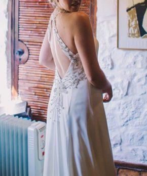Vestido de novia hecho por Sofía Larraín