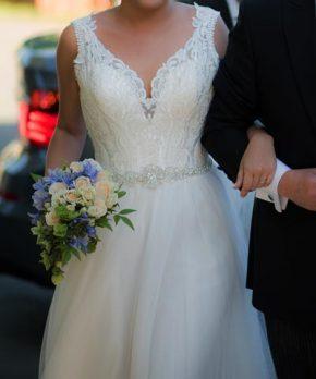 Vestido de novia comprado en La Casa Blanca