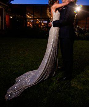 Vestido de novia hecho por Francisca Larrain