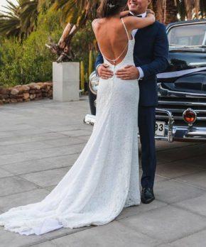 Vestido de novia de encaje a la venta